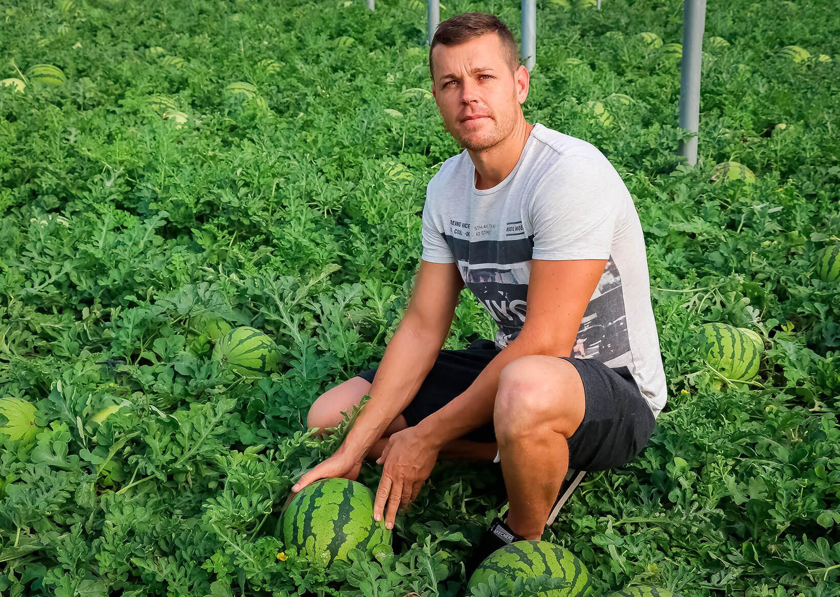 Antonio Sánchez, agricultor de UNICA