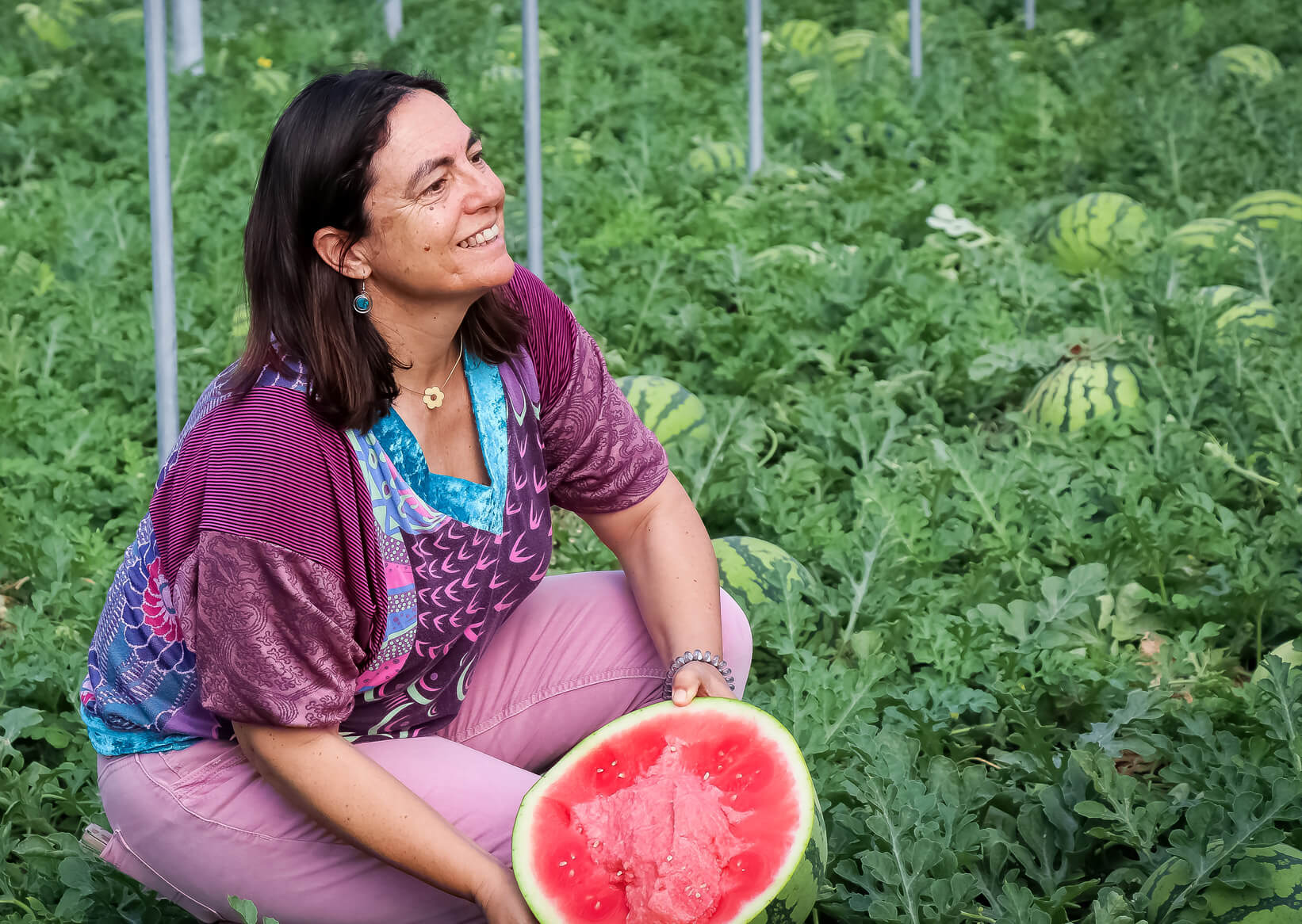 """""""El futuro son los alimentos saludables"""", afirma Rosa Herrero, técnico de campo de UNICA"""